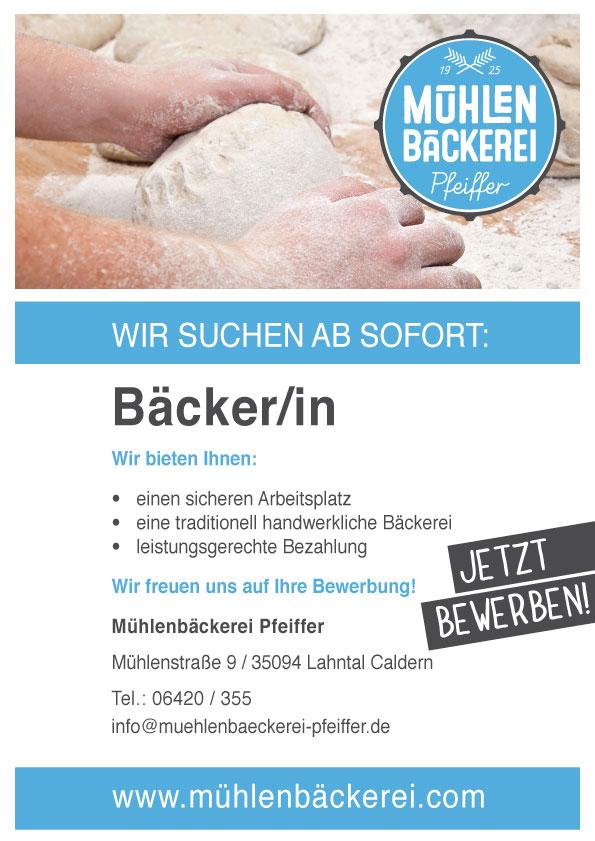 Stellenangebot-baecker-druck